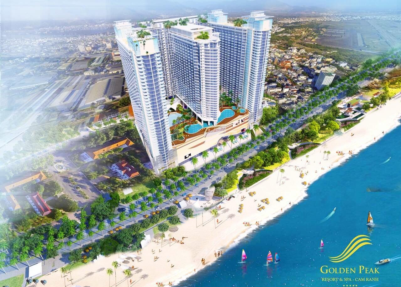 Phối cảnh dự án Golden Peak Nha Trang