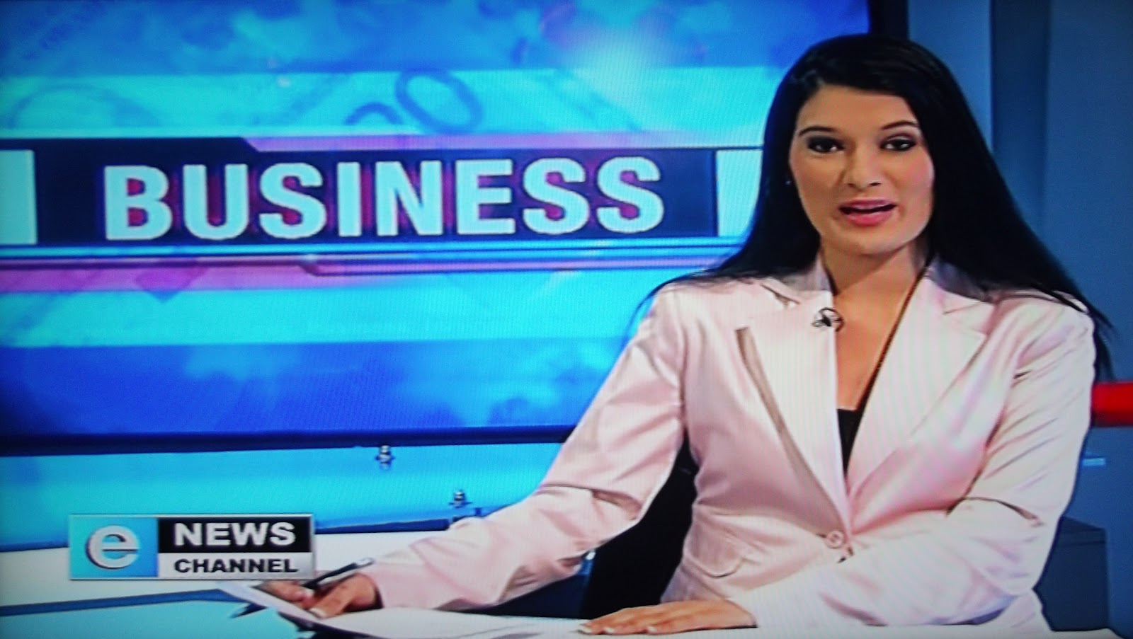 TV with Thinus: BREAKING. Eleni Giokos joins the eNews Channel as financial reporter; dumps CNBC ...