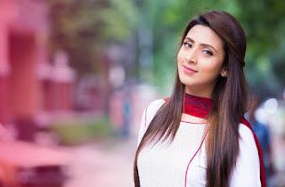 Bidya Sinha Saha Mim Cute In Romance