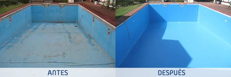Reparación de piscina con lámina armada en Guadalajara - Espool Piscinas, Guadalajara – info@espoolpiscinas.es