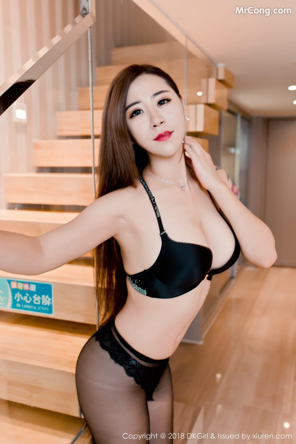 Image DKGirl-Vol.086-Cier-MrCong.com-006 in post DKGirl Vol.086: Người mẫu 雪儿Cier (47 ảnh)