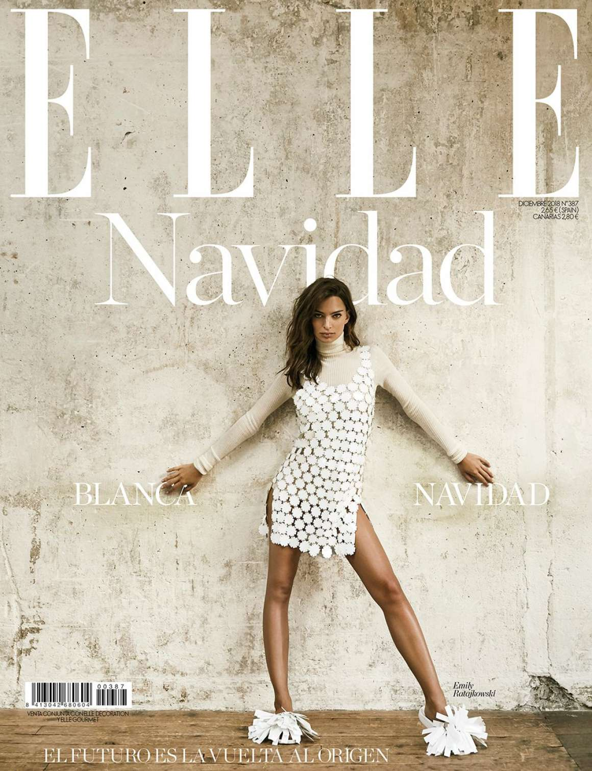 Emily Ratajkowski – Elle Spain Cover Magazine (December 2018)