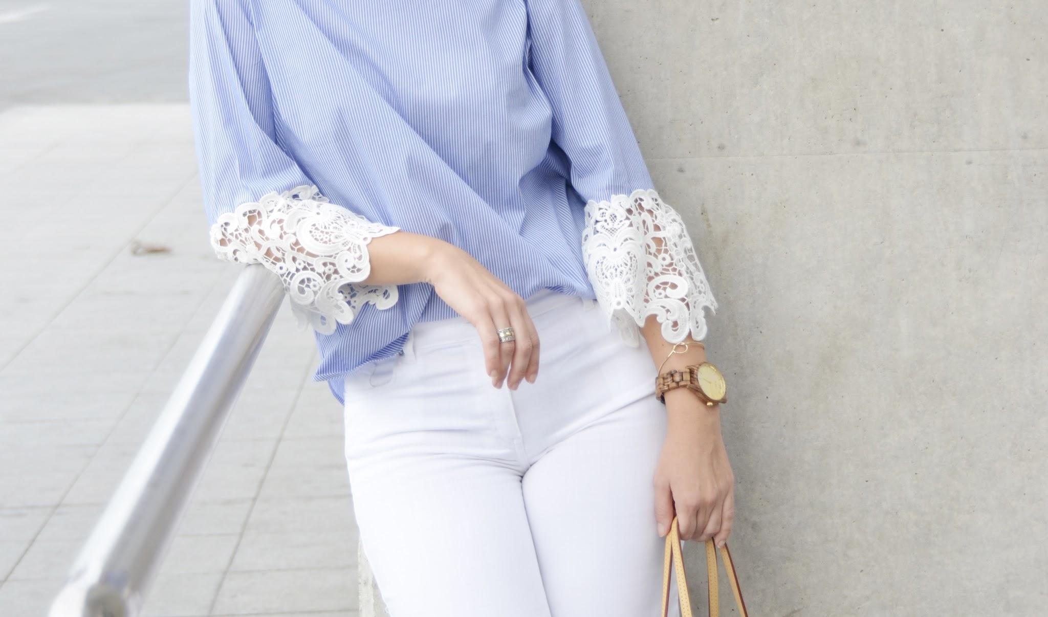 blusa tendencia tejido popelín