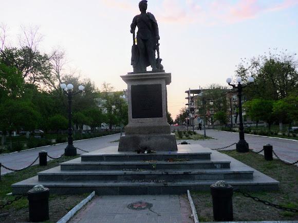 Херсон. Памятник князю Григорию Потёмкину