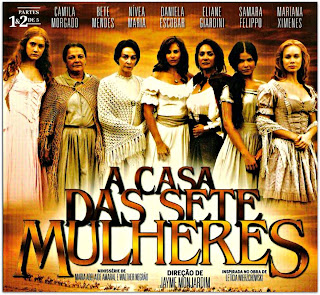 A Casa das Sete Mulheres - Capa do DVD