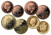 Coronas suecas, la moneda de Suecia