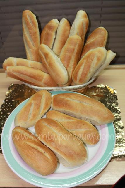 Pan felipito o baguettes