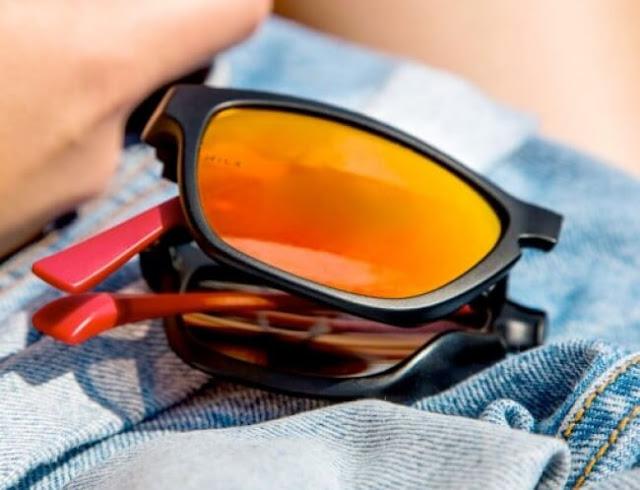 نظاراتٌ شمسية قابلة للطي