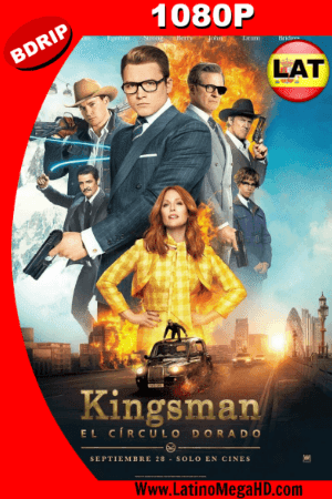 Kingsman: El Círculo Dorado (2017) Latino HD BDRIP 1080P ()