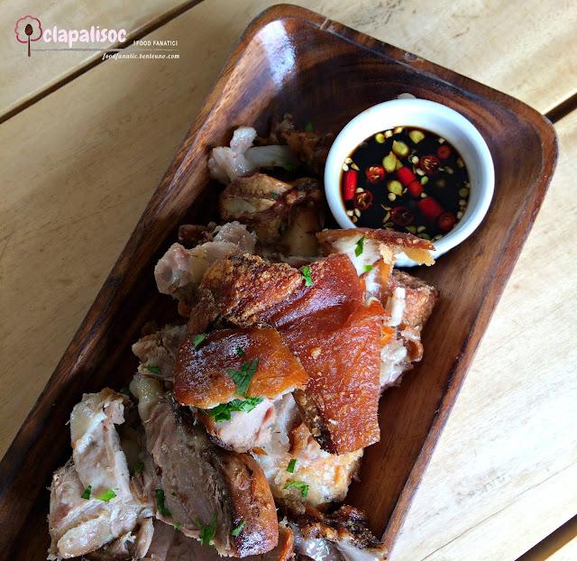 Boneless Crispy Pata Roulade from Amacena Tagaytay