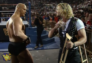 WWF / WWE - King of the Ring 96 - Former partners Brian Pillman and Steve Austin had a showdown