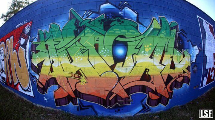 Graffiti Art no Morro Doce, São Paulo. Foto: acervo Jamal