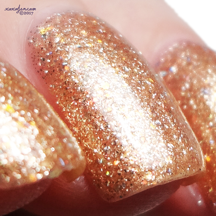 xoxoJen's swatch of Envy Sunset Sands