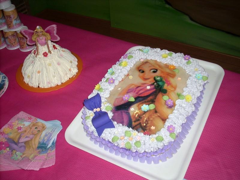 Top nonsolopreziosi: Torta Rapunzel Chiara SG23