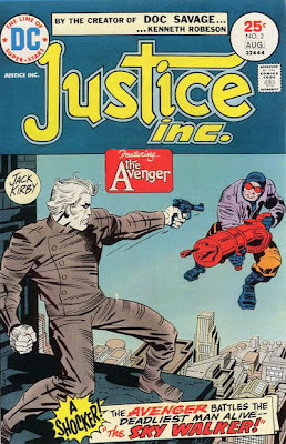 Justice Inc #2, the Avenger, Sky Walker, Jack Kirby cover