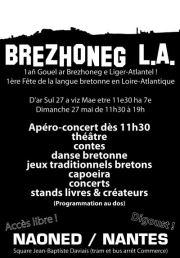 Programme Brezhoneg L.A. 2012
