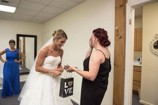 Image result for bride getting dressed