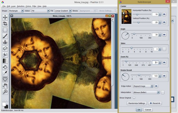 Pixelitor | δωρεάν εφαρμογή επεξεργασίας εικόνας για Windows, Linux και Mac OS