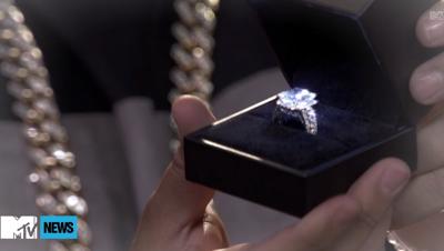 Nicki Minaj's 10k Diamond engagement ring