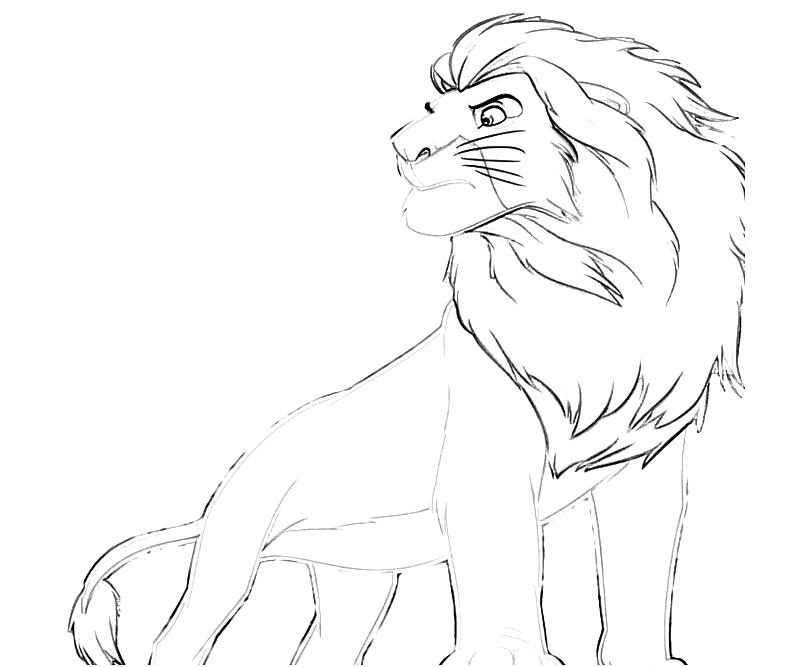 directories lion king simba coloring pages lion king coloring pages