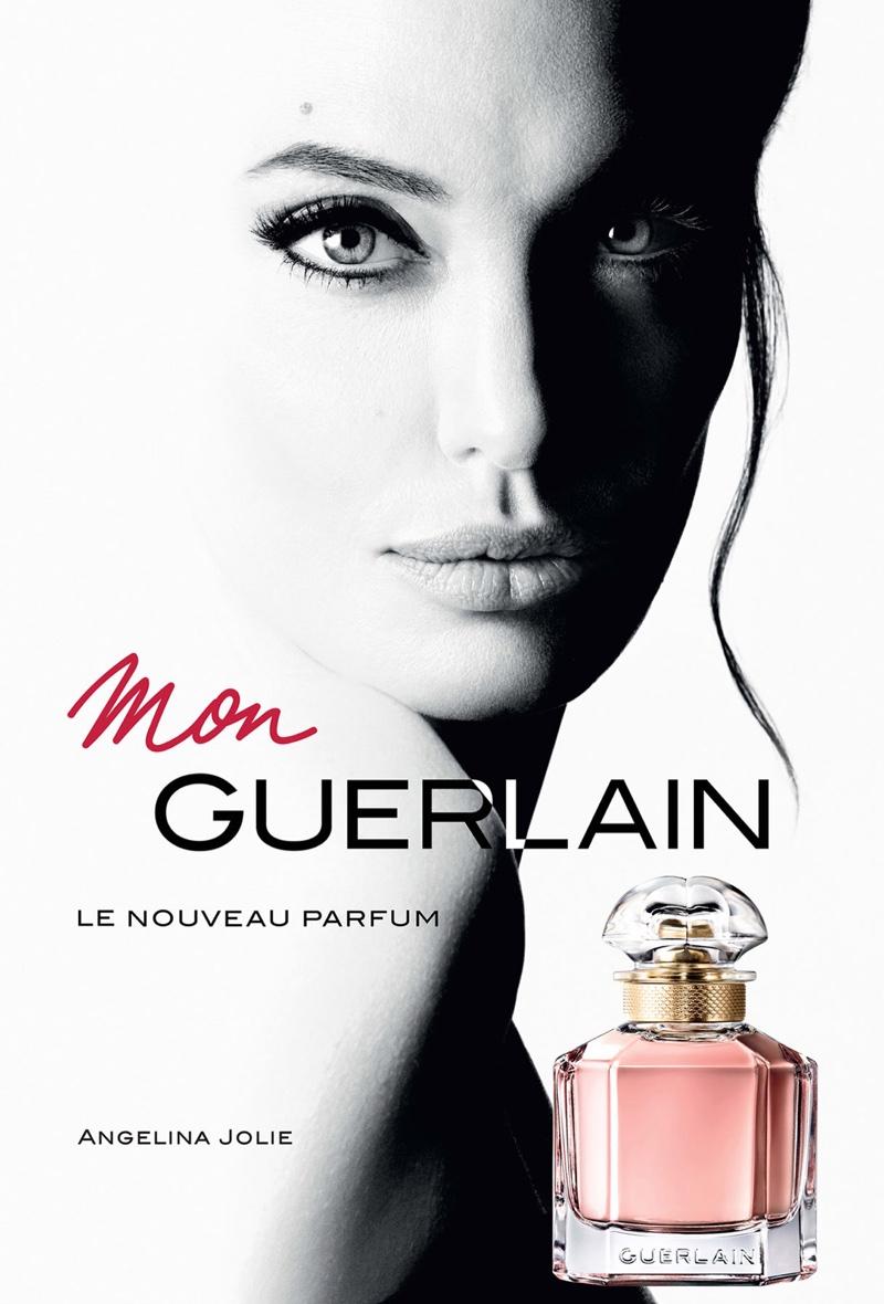 9ca54f8b172 Daily delight: Angelina Jolie for Mon Guerlain