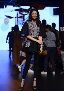 Kajal Agarwal at Lakme Fashion Week Photoshoot