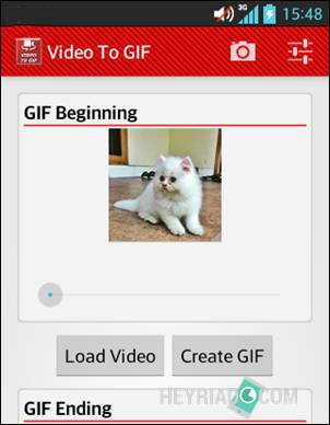 Membuat Animasi Gif Dari Video di Android