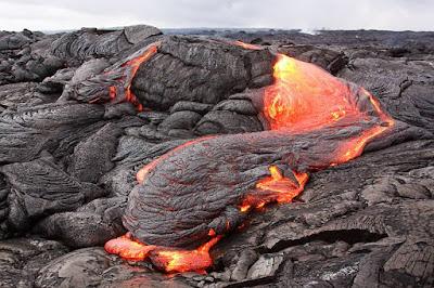 Material Letusan Gunung Api