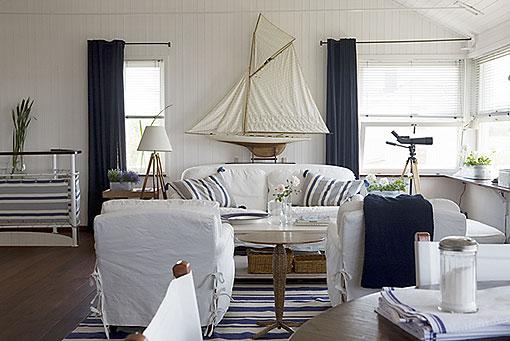 La guarida de bam estilo marinero - Decoracion casas de playa ...