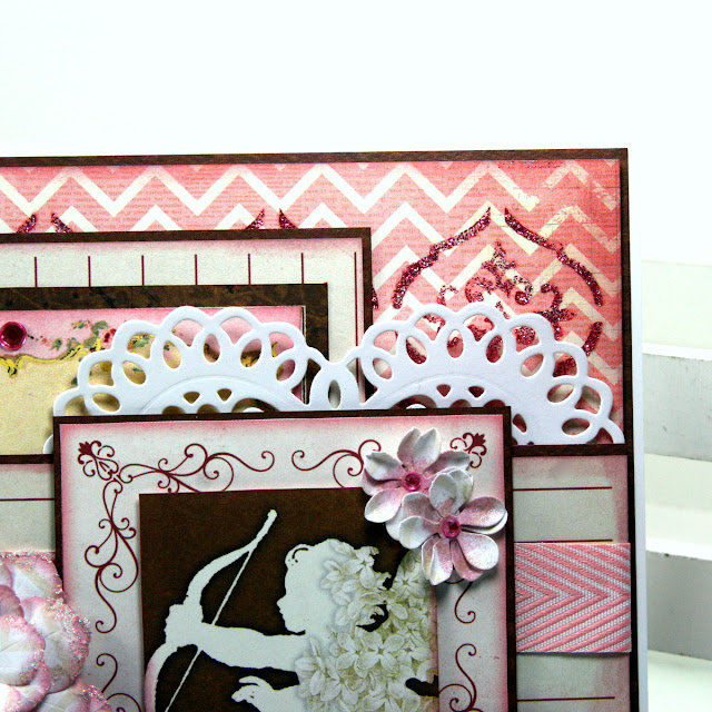 Remember This Valentine Greeting Card by Ginny Nemchak using BoBunny On This Day in January