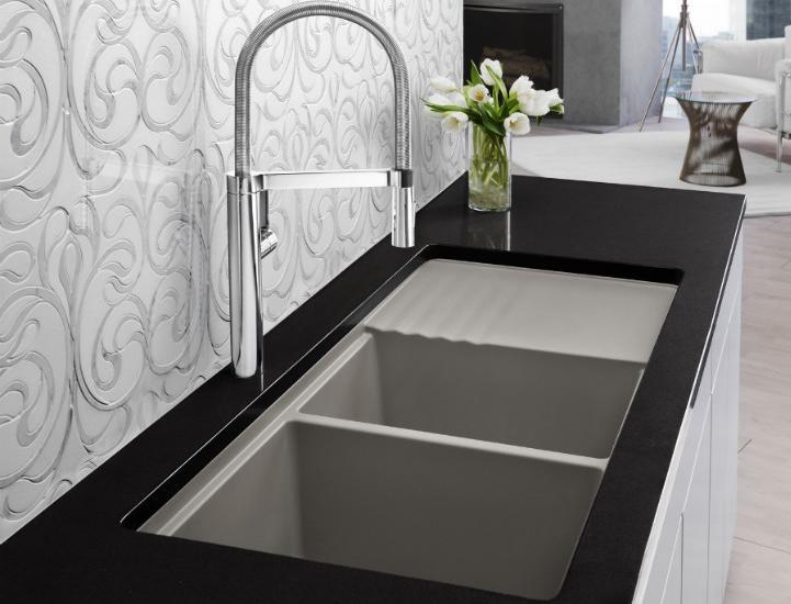Kitchen Corian Sinks And Faucets