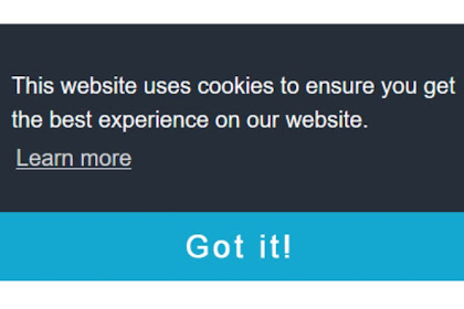 How To check Cookies notification in Blogger for European Union countries outside EU ?