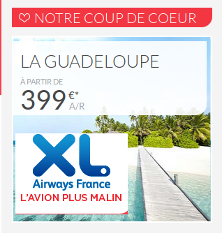 Bons plans Xl Airways