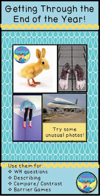 Getting through to the end of the school year using odd photos! Looks Like Language