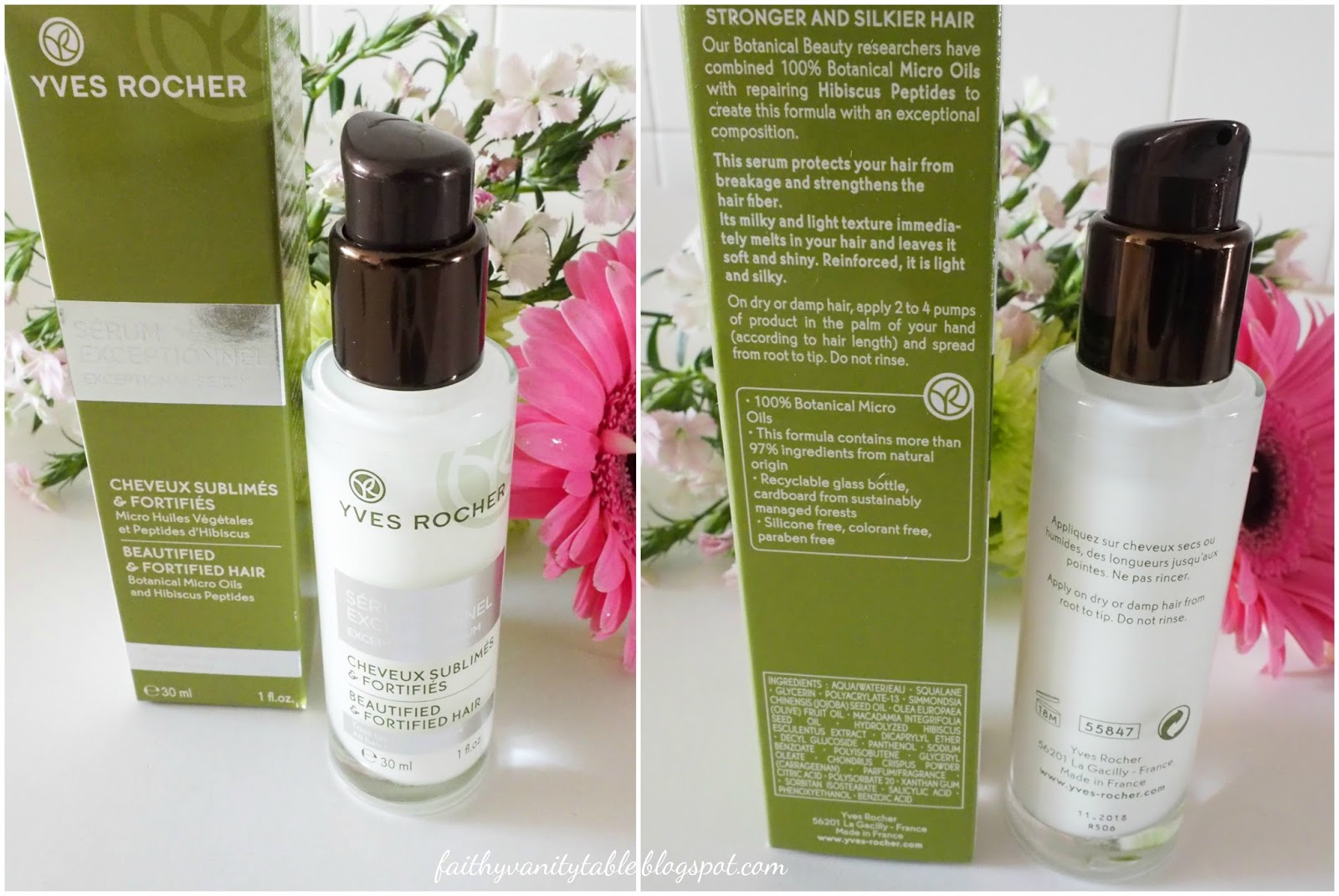 Singapore Beauty, Travel and Lifestyle Blog: Review of Yves Rocher