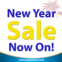 new year sale now on