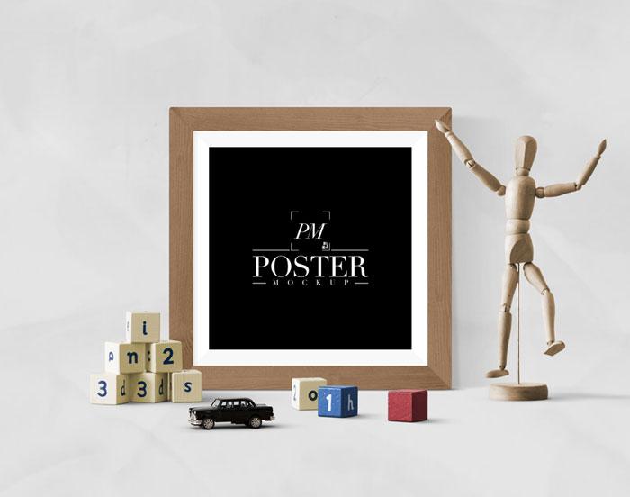 Mẫu Mockup thiết kế Poster chuyên nghiệp miễn phí cho bạn