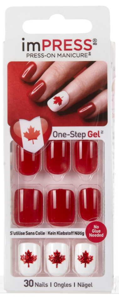 KISS Limited Edition Canada Day Collection | Beauty Crazed in Canada
