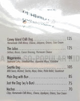 Schmidt's Hotdog: Menu and Prices