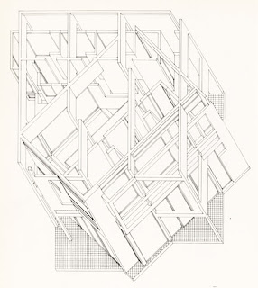beyond architectural illustration graphical parallel projection 1970s Movie of Summer above is a plan projection of house iii by peter eisenman from 1970 eisenman also produced a series of similar views showing the development of the