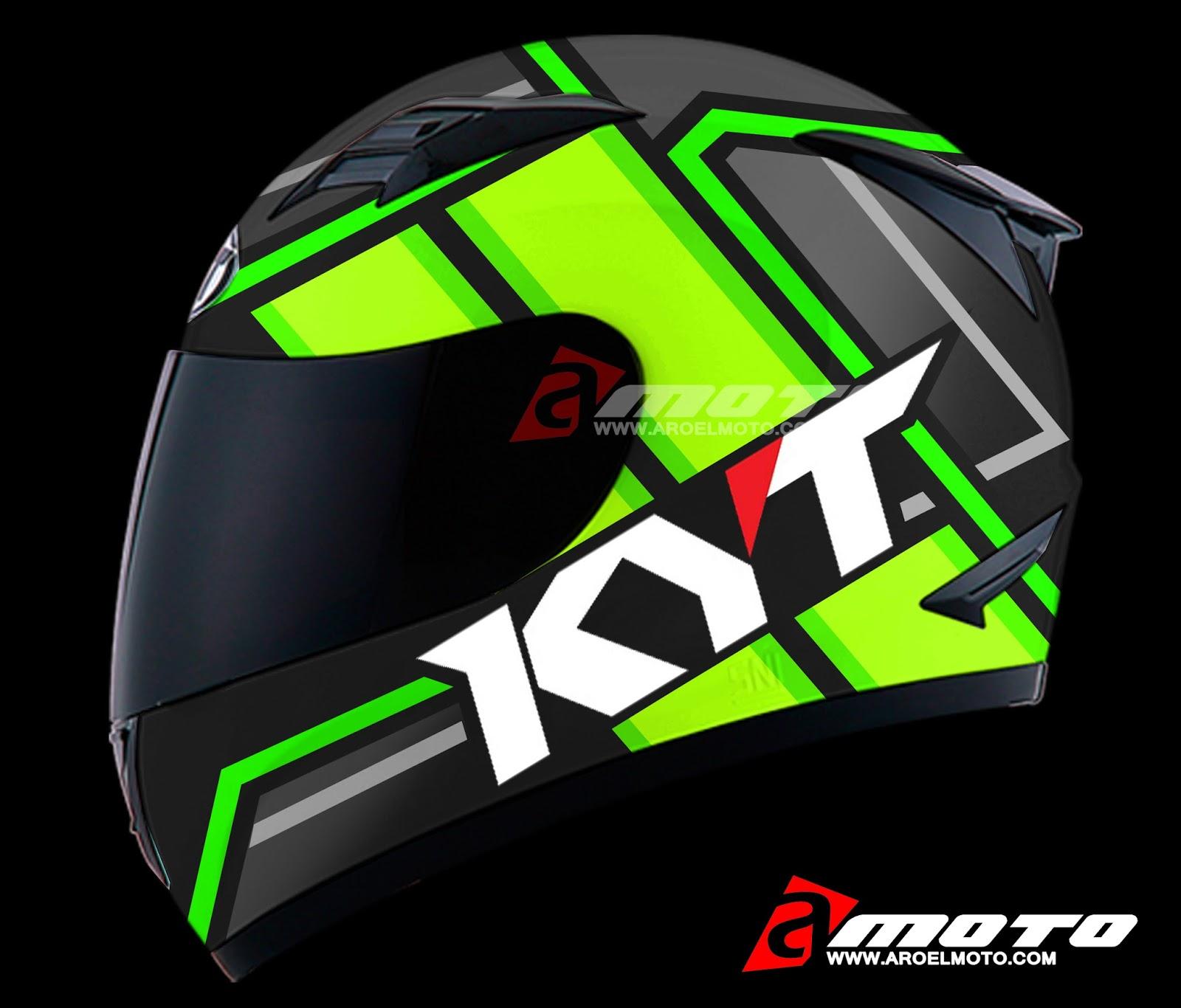 Design Helm kumpulan design decal helm kyt