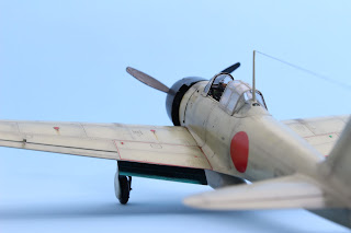 A6M3 Zéro de Tamiya au 1/48.