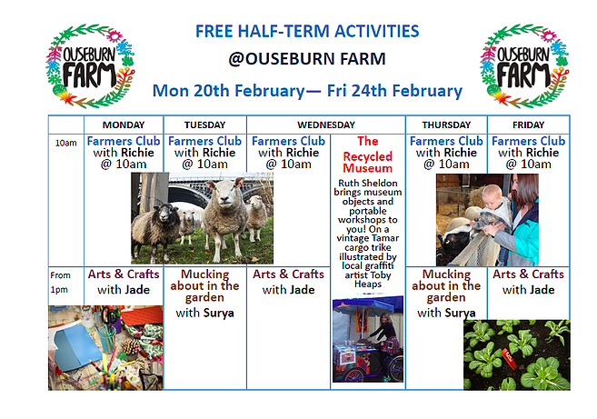 Ouseburn Farm Newcastle | A FREE Place to Take the Kids - free half term activities
