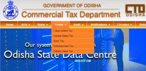 odisha government commercial tax