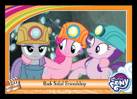 My Little Pony Rock Solid Friendship Series 5 Trading Card