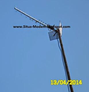 Pakai Antena Modem - Cara Ampuh Memperkuat Sinyal CDMA Dan GSM