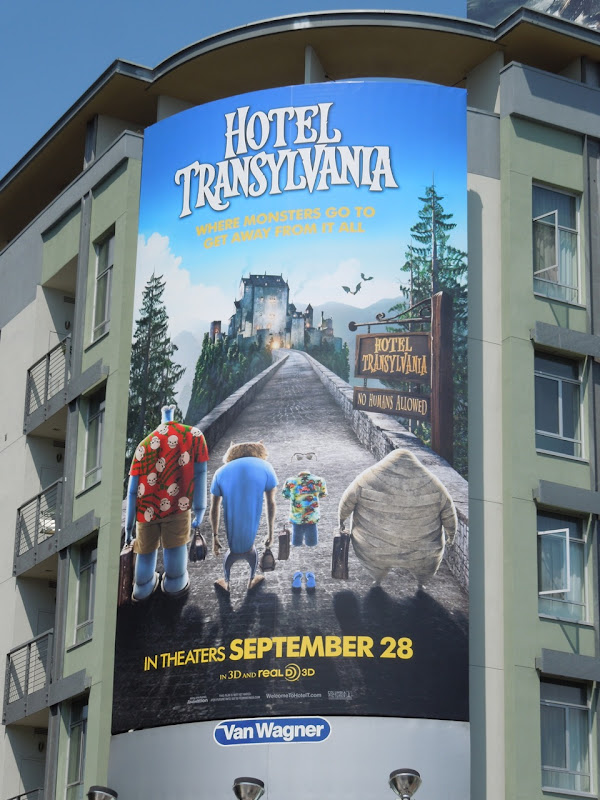 Hotel Transylvania movie ad