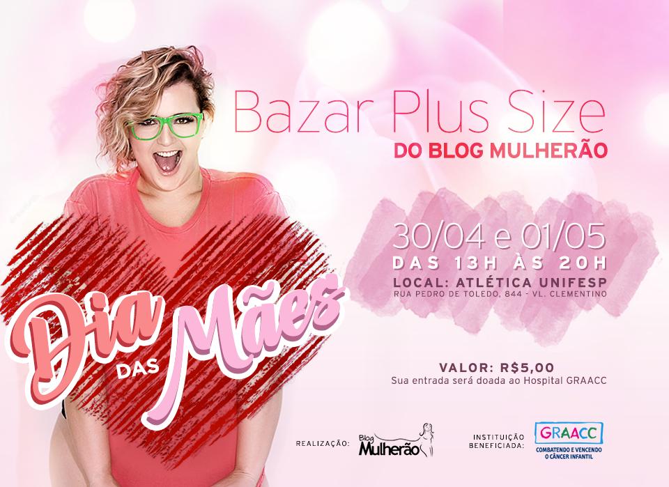 63eb68ead1cb5e Maggníficas: Bazar Plus Size do Blog Mulherão