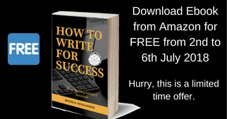 Free Kindle Promotion for Book - How to Write for Success