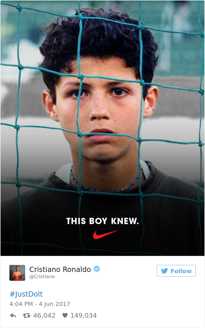 Best Of Famous Nike Football Poster Ads Footy Headlines